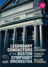 Legendary Conductors of the Boston Symphony Orchestra / Erich Leinsdorf, Charles Munch, William Steinberg (from TV broadcasts 1958-1971)  [5 DVDs]
