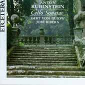 Rubinstein: Cello Sonatas / Gert Von Bulow, Jose Ribera