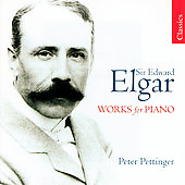 Elgar: Works for Piano / Pettinger