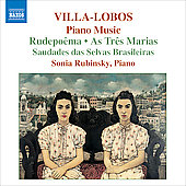 Villa-Lobos: Piano Music, Vol 6 / Sonia Rubinsky