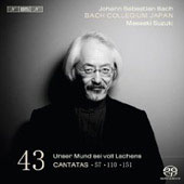 Bach: Cantatas Vol 43 / Suzuki, Bach Collegium Japan
