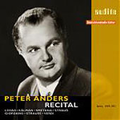 Peter Anders - Recital - Kalman, Strauss, Verdi, etc