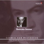 Ludwig van Beethoven: The Five Piano Concertos / Paul Badura-Skoda, piano (rec. 1951-1958)