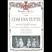 Mozart: Cosi Fan Tutte / Schwarzkopf, Merriman, Cantelli (1956) [CD+Book]