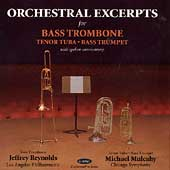 Orchestral Excerpts for Bass Trombone, Tenor Tuba, etc