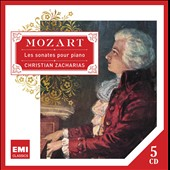 Mozart: Piano Sonatas / Christian Zacharias