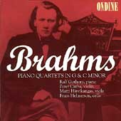 Brahms: Piano Quartets in G & C Minor / Gothoni, et al