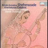 Nicolai Rimsky-Korsakov: Sheherazade; Aram Khachaturian: Gayane / Zdenek Chalabala