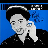 Barry Brown: Right Now [Digipak]