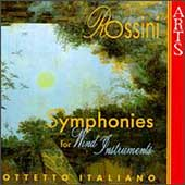 Rossini: Symphonies for Wind Instruments / Ottetto Italiano
