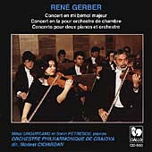 Gerber: Concerto for Chamber Orchestra, etc / Cichirdan