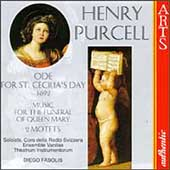 Purcell: Ode For St. Cecilia's Day, etc / Fasolis, et al