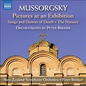 Mussorgsky: Pictures at an Exhibition (arr. Peter Breiner); Songs and Dances of Death; The Nursery