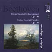 Beethoven: String Quartet Op 131 and 135 / Leipzig Quartet