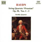 Haydn: Complete String Quartets Vol 22 - Opus 50 / Kod&aacute;ly