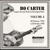 Bo Carter: Bo Carter, Vol. 4 (1936-1938)