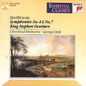 Beethoven: Symphonies 4 & 7 / Szell, Cleveland Orchestra