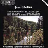 Sibelius: Spring Song, The Bard, etc / Jarvi, Gothenburg SO