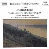 Rubinstein: Violin Concerto;  Cui / Nishizaki, Hal&aacute;sz, et al