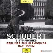 Schubert: 8 Symphonies / Karl B&#246;hm, Berliner Philharmoniker