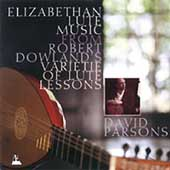 Elizabethan Lute Music from Dowland's Varietie... / Parsons