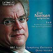 Nielsen: Symphonies no 3 & 4 / Vanska, BBC Scottish SO