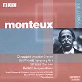 Beethoven, Strauss, Cherubini, Berlioz / Pierre Monteux