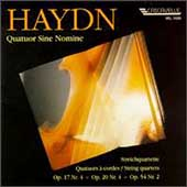 Haydn: String Quartets / Quatuor Sine Nomine