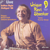 Ravi Shankar: Unique: Indian Night Live Stuttgart '88
