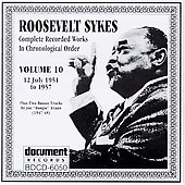 Roosevelt Sykes: Complete Recorded Works, Vol. 10 (1951-1957)