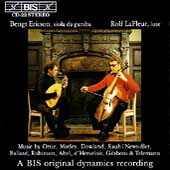 Music for Viola da Gamba and Lute / B. Ericson, R. La Fleur
