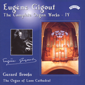 Eugene Gigout: Complete Organ Works Vol 4 / Gerard Brooks