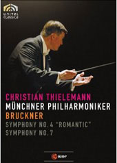 Bruckner: Symphonies Nos. 4 and 7 / Thielemann, Munich PO [DVD]
