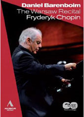 Daniel Barenboim: The Warsaw Recital / Chopin [DVD]