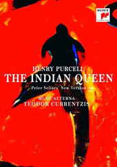 Henry Purcell: The Indian Queen, a new version by Peter Sellars / Brutscher, Bullock, Carrero, Dumaux, Koutcher. Musicaeterna, Currentizis [Blu-ray]