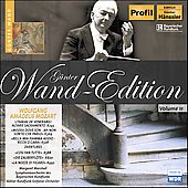 G&#252;nter Wand Edition - Mozart: Litaniae, Arias, Overtures