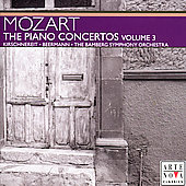 Mozart: The Piano Concertos Vol 3 / Kirschnereit, Beermann