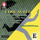 Scott: Complete Piano Music Vol 4 / De'Ath