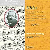 The Romantic Piano Concerto Vol 45 - Hiller / Shelley, Tasmanian SO