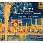 Handel: Water Music, Music for the Royal Fireworks / Savall