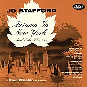 Jo Stafford: Autumn in New York
