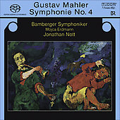 Mahler: Symphony no 4 in G major / Nott, Erdmann, Bamberg SO, et al