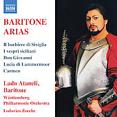 Baritone Arias - Verdi, Rossini, Mozart, Donizetti / Lado Ataneli