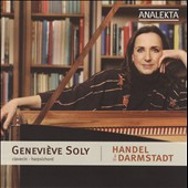 Handel in Darmstadt / Genevi&#232;ve Soly, harpsichord