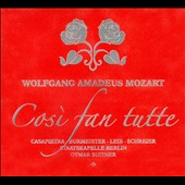 Mozart: Cosi Fan Tutte / Suitner