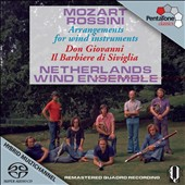 Mozart, Rossini: Arrangements for Wind Ensemble / Netherlands Wind Ens.