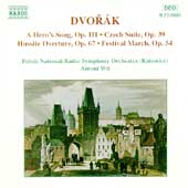 Dvorák: A Hero's Song, Czech Suite, etc / Wit, Katowice