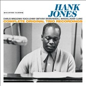 Hank Jones (Piano): Complete Original Trio Recordings