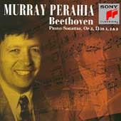 Beethoven: Piano Sonatas Op 2 nos 1-3 / Murray Perahia