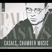 Pau Casals: Chamber Music / Alart Quartet, Josef Colome, Katia Michel
